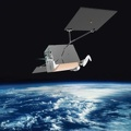 fast internet Satellite-with-Thruster (OneWeb)