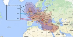 9°E Eutelsat 9B  Ku Band Greece bream