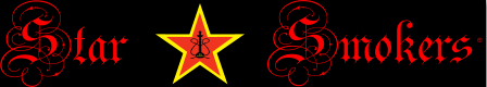 Star Smokers  Banner schwarz